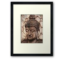Buddha in Biege Framed Print