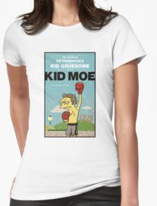 Kid Moe Womens Fitted T-Shirt
