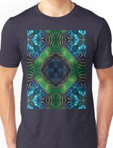 Psychedelic Fractal Manipulation Unisex T-Shirt