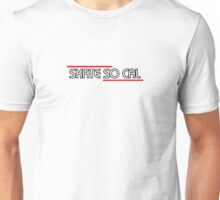 Skate So CAL Tee shirt and Sticker Unisex T-Shirt