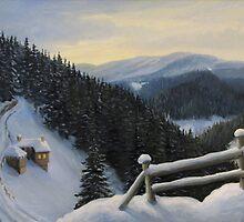 Snowy Fairytale by kirilart
