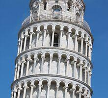 Leaning Tower in Pisa by kirilart