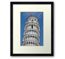 Leaning Tower in Pisa Framed Print