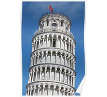 Leaning Tower in Pisa Poster