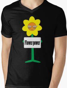 bad ass flower  Mens V-Neck T-Shirt