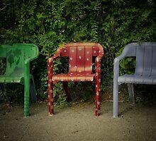 Three Chairies by montserrat