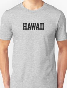 Hawaii Jersey Black T-Shirt