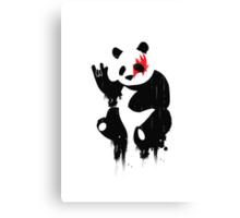 Panda Rocks Canvas Print