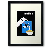 The Langoliers - Minimal Poster Framed Print