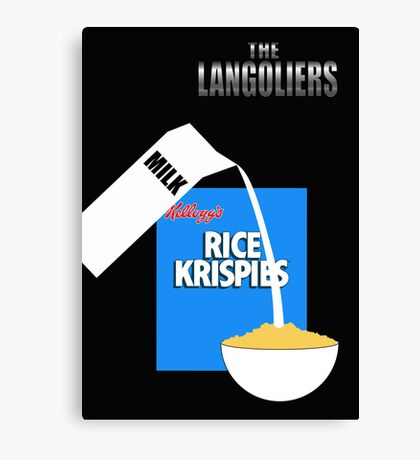 The Langoliers - Minimal Poster Canvas Print