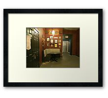 Nook and Cranny.... As Is Framed Print