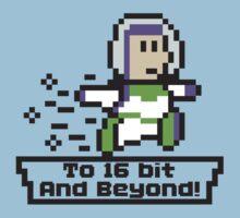 To 16Bit and Beyond Kids Tee