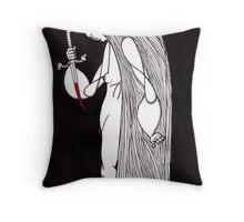 hunchback beauty Throw Pillow