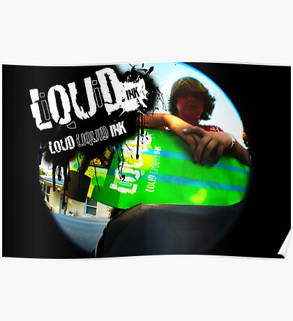 Liquid Skateboards Poster