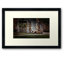 Oradour-sur-Glane Framed Print