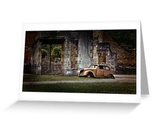 Oradour-sur-Glane Greeting Card