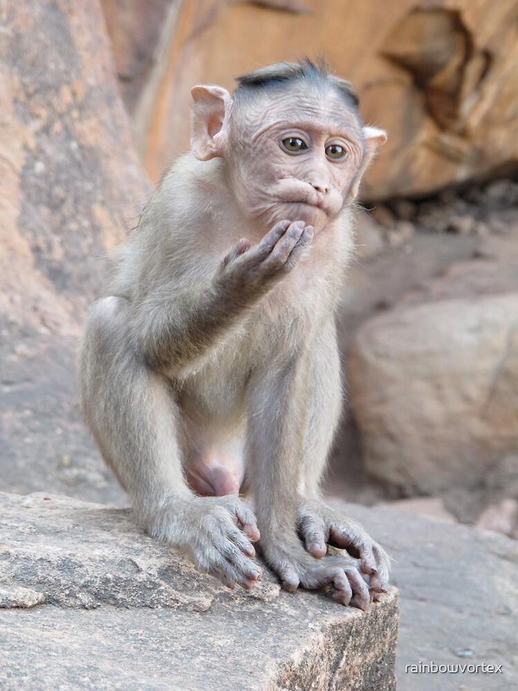 do i have an itchy chin or am i thinking? by rainbowvortex