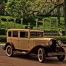 1930 Hupmobile Model C Sedan by TeeMack