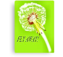 I WANT TO FLY AWAY Canvas Print