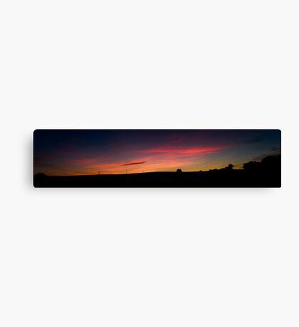 Dorset Sunset Canvas Print