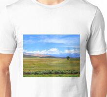 Drive by Tree...Outside Hailey, Idaho Unisex T-Shirt