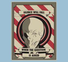 Silence Will Fall One Piece - Short Sleeve