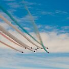 Red Arrows # 1 by Dale Rockell