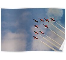 Red Arrows # 2 Poster