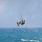 kite surfer - summer in cyprus ☀☀☀☀☀ - very hot... by Gregoria  Gregoriou Crowe