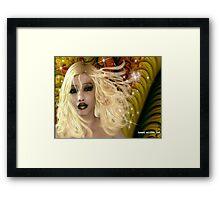 Fantasy Hot Lips Framed Print
