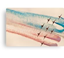 Red Arrows # 6 Canvas Print