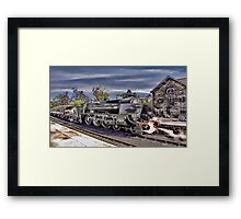 Grosmont Station Framed Print