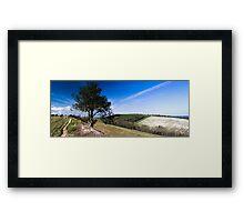 Hod Hill Framed Print