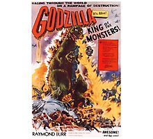 Godzilla 1956 Movie Poster Photographic Print