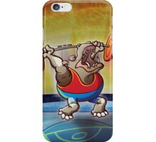 Olympic Weightlifting Hippopotamus iPhone Case/Skin