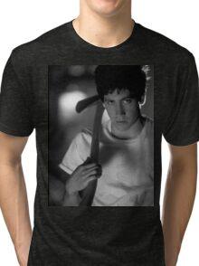 Donnie Darko (Black and White) Tri-blend T-Shirt