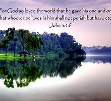 Pierce water w bible verse by William Yee Khai Teo