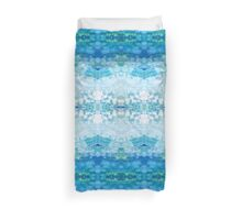 Blue Topaz by Stephanie Burns Duvet Cover