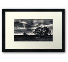 Ghost Sky Framed Print