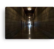A Corridor Canvas Print