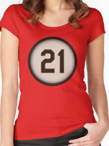 21 - Arriba (alt version) Women's Fitted Scoop T-Shirt