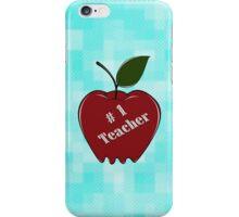 #1 Teacher iPhone Case/Skin