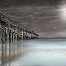 Flagler Pier by Barbara Simmons