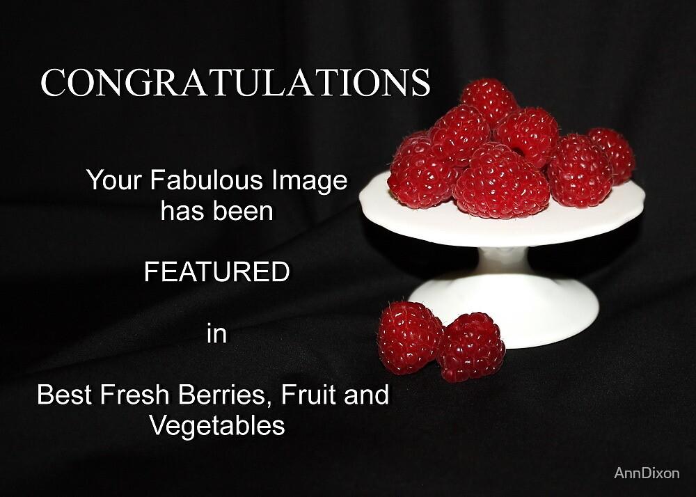 BANNER for Fresh Berries ETC by AnnDixon