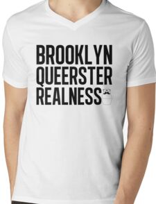 Brooklyn Queerster Mens V-Neck T-Shirt