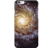 Yellow Hubble Galaxy iPhone Case/Skin