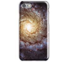 Yellow Hubble Galaxy iPhone Case/Skin