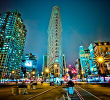 Flatiron Building, NYC  23°F by sxhuang818