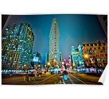 Flatiron Building, NYC  23°F Poster
