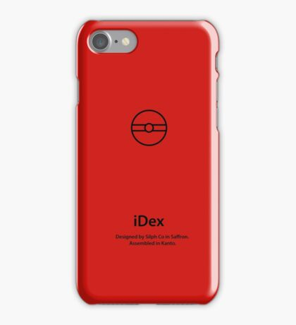 iDex - Red iPhone Case/Skin